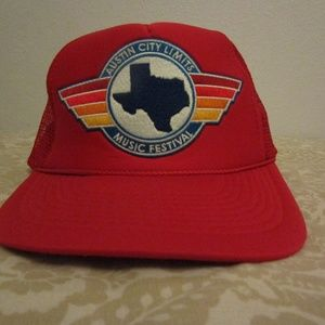 284f56a37e571 aviator nation ACL 2018 TRUCKER HAT - red